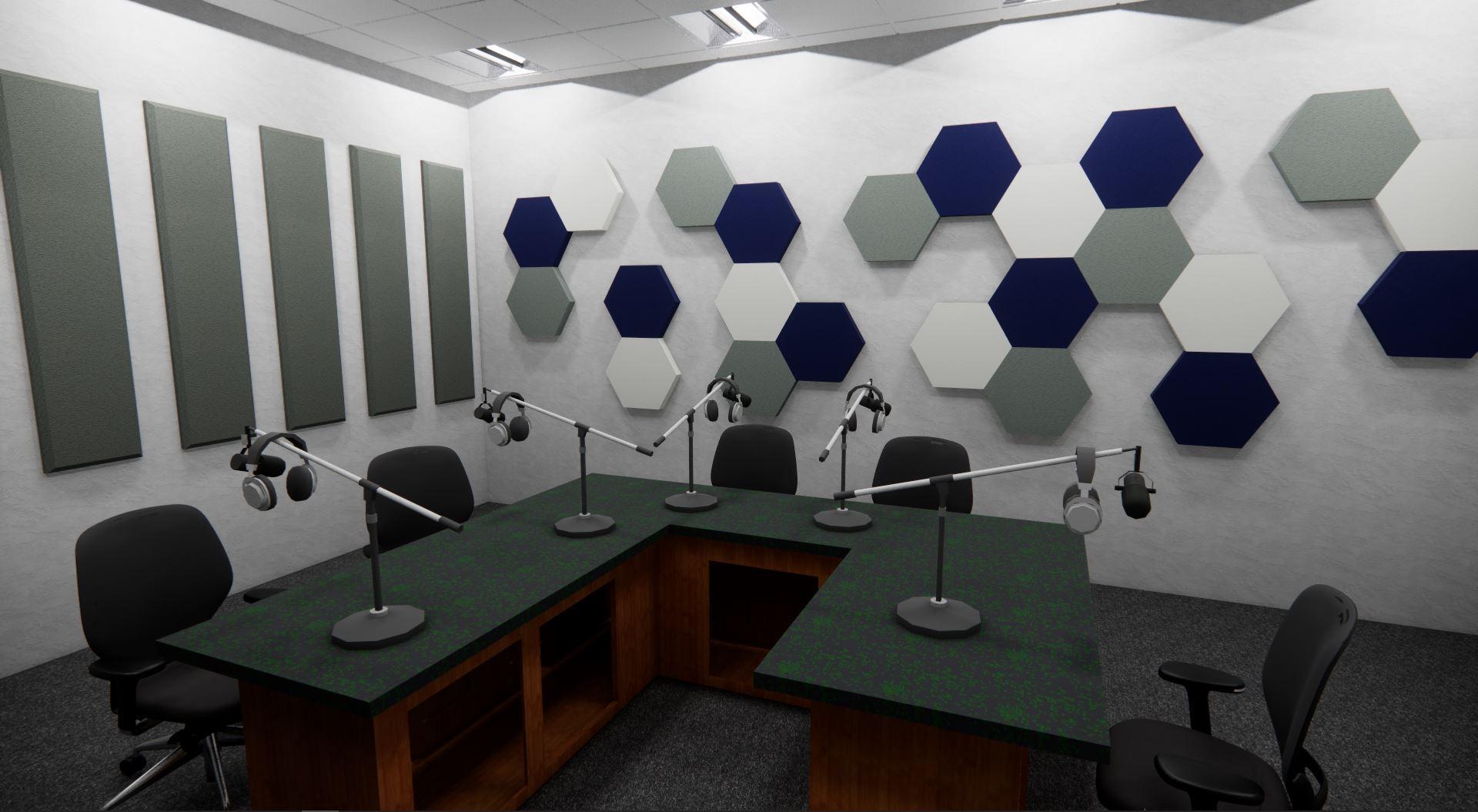 1 WTUR Radio Room